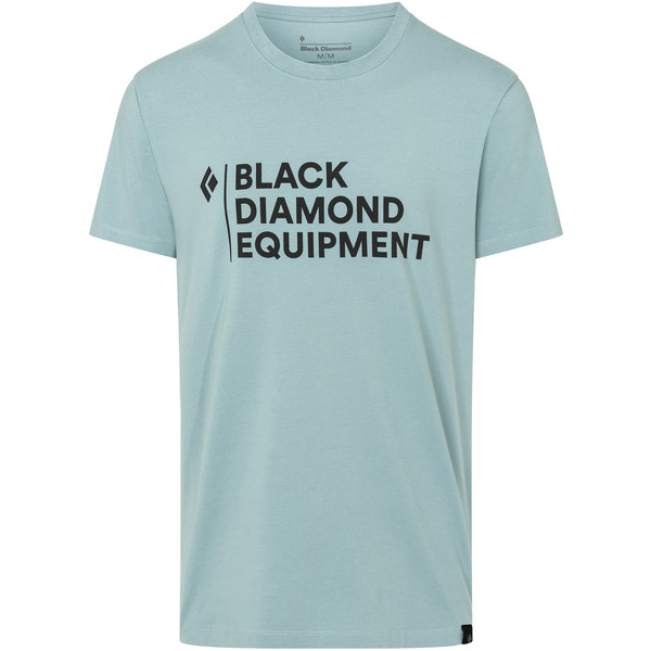 Black Diamond M STACKED LOGO TEE Herr