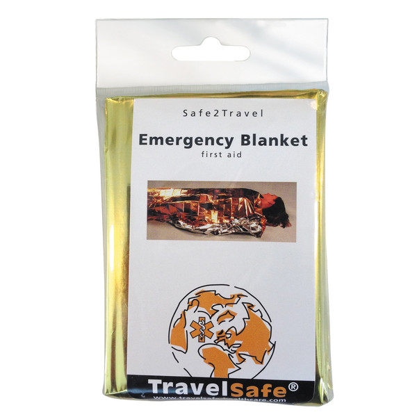 Travel safe EMERGENCY BLANKET