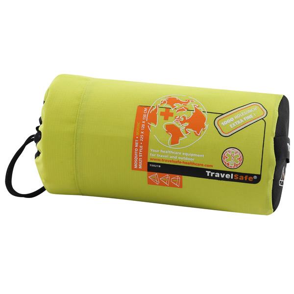 Travel Safe MOSQUITO NET - MULTI STYLE 1P - EXTRA FINE MESH