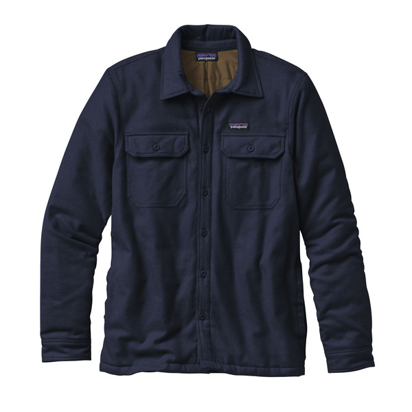 Patagonia M' S INSULATED FJORD FLANNEL JACKET Herr