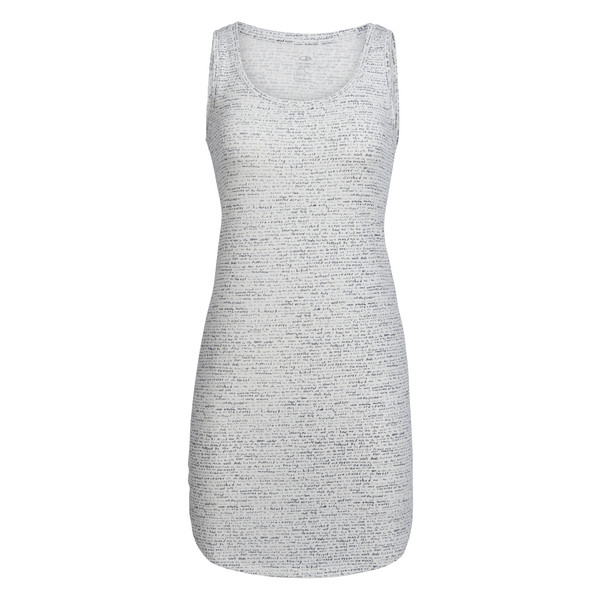 Icebreaker WMNS YANNI TANK DRESS WINDSTORM Dam