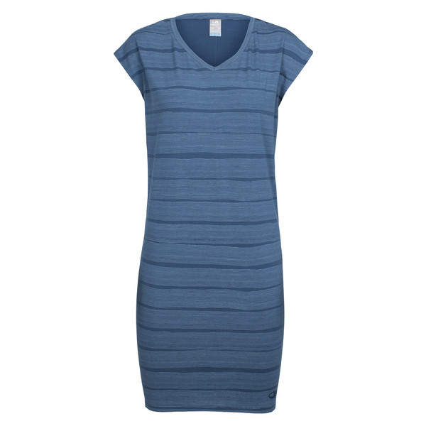 Icebreaker WMNS YANNI TEE DRESS COMBED LINES Dam