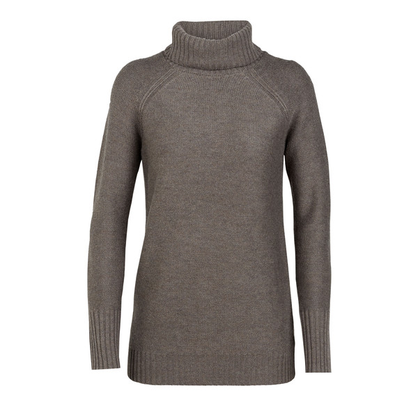 Icebreaker WMNS WAYPOINT ROLL NECK SWEATER Dam