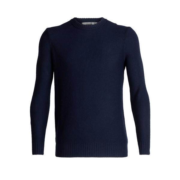 Icebreaker WAYPOINT CREWE SWEATER Herr - Stickad tröja