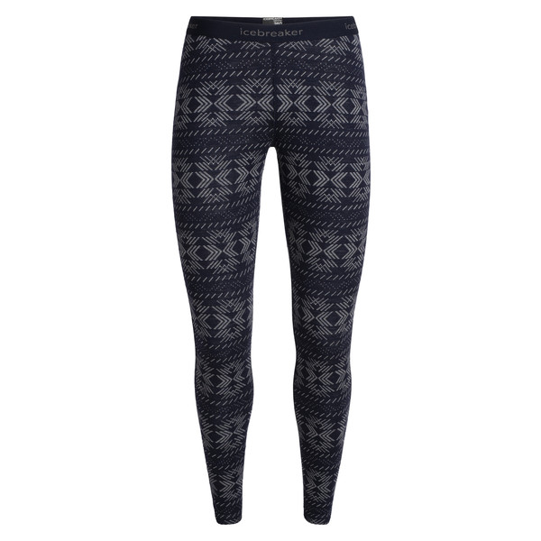 Icebreaker 250 VERTEX LEGGINGS CRYSTALLINE Dam