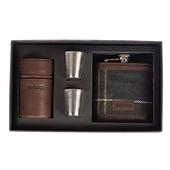 Barbour TARTAN HIP FLASK AND CUPS  -