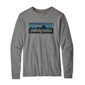 Patagonia KIDS'  L/S GRAPHIC ORGANIC T-SHIRT Barn -