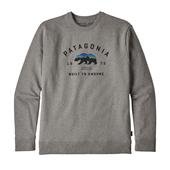 Patagonia M' S ARCHED FITZ ROY BEAR UPRISAL CREW SWEATSHIRT Herr -