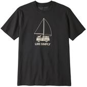 Patagonia M' S LIVE SIMPLY WIND POWERED RESPONSIBILI-TEE Herr -