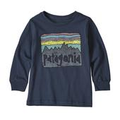 Patagonia BABY L/S GRAPHIC ORGANIC T-SHIRT Barn -