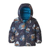 Patagonia BABY REVERSIBLE DOWN SWEATER HOODY Barn -