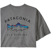 Patagonia M' S FRAMED FITZ ROY TROUT RESPONSIBILI-TEE Herr -