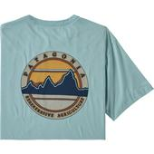 Patagonia M' S ROAD TO REGENERATIVE POCKET TEE Herr -