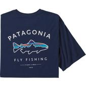 Patagonia M' S FRAMED FITZ ROY TROUT ORGANIC T-SHIRT Herr -