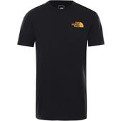 The North Face S/S WALLS ARE MEANT FOR CLIMBING TEE Herr -