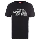 The North Face M S/S WOODCUT DOME TEE Herr -