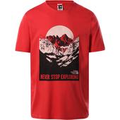 The North Face M S/S NATURAL WONDERS TEE Herr -
