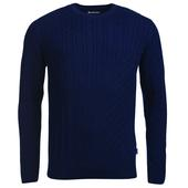 Barbour COTTON/CASHMERE CABLE SWEATER Herr -