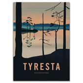 Naturkompaniet TYRESTA NATIONALPARK POSTER  -
