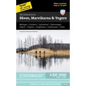 Calazo SKRIDSKOKARTA BÅVENM MARVIKARNA &  YNGERN 1:50000  -