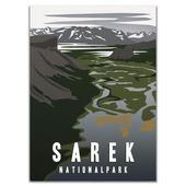 Naturkompaniet SAREK NATIONALPARK POSTER  -