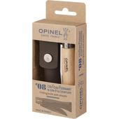 Opinel CLASSIC STAINLESS STEEL NO8 + SHEATH  -