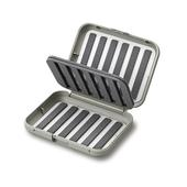 C& F Design SMALL 12-ROW MIDGE FLY CASE W TWO-SIDED F.PAGE  -