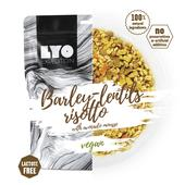 Lyo Expedition BARLEY-LENTILS RISOTTO WITH AVOCADO MOUSSE  -