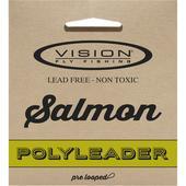 Vision SALMON POLYLEADER 5FT  -