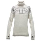 Devold ONA WOMAN ROUND SWEATER Dam -