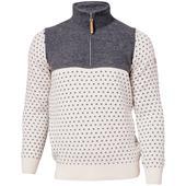 Ivanhoe SVERRE HALF ZIP Herr - Stickad tröja