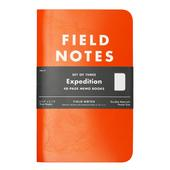 Field Notes EXPEDITION EDITION 3-PACK  -