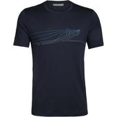 Icebreaker MENS TECH LITE SS CREWE SINGLE LINE WHALE Herr -