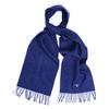 Barbour PLAIN LAMBSWOOL SCARF Unisex - SAPPHIRE BLUE M