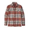 Patagonia M' S L/S FJORD FLANNEL SHIRT Herr - BUCKSTOP PLAID: ROOTS RED