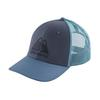 Patagonia LIVE SIMPLY WINDING LOPRO TRUCKER HAT Unisex - DOLOMITE BLUE