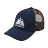 Patagonia LIVE SIMPLY WINDING LOPRO TRUCKER HAT Unisex - CLASSIC NAVY