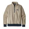 Patagonia W' S WOOLYESTER FLEECE P/O Dam - OATMEAL HEATHER