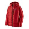 Patagonia M' S FITZ ROY DOWN PARKA Herr - FIRE W/OXIDE RED