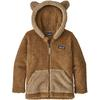 Patagonia BABY FURRY FRIENDS HOODY Barn - BEECH BROWN