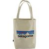 Patagonia MARKET TOTE Unisex - P-6 LOGO: BLEACHED STONE