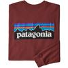 Patagonia M' S L/S P-6 LOGO RESPONSIBILI-TEE Herr - OXIDE RED
