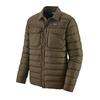 Patagonia M' S SILENT DOWN SHIRT JACKET Herr - LOGWOOD BROWN