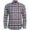 Barbour HIGH CHECK 31 TAILORED Herr - RICH RED