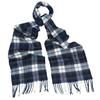 Barbour ROBINSON SCARF Unisex - NAVY/ECRU/OLIVE
