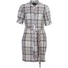Barbour BARBOUR MILLIE DRESS Dam - PLATINUM TARTAN