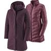 Patagonia W' S TRES 3-IN-1 PARKA Dam - DEEP PLUM