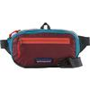 Patagonia ULTRALIGHT BLACK HOLE MINI HIP PACK Unisex - PATCHWORK: ROAMER RED