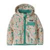 Patagonia BABY BAGGIES JACKET Barn - BIRDS IN THE LOTUS: PRIMA PINK