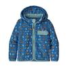 Patagonia BABY BAGGIES JKT Barn - FISHIES IN THE SWAMP: BAYOU BL